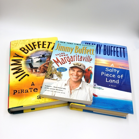 Jimmy Buffet Book Bundle